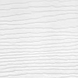 170mm Feather Edge Embossed Cladding - White