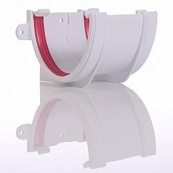 Deep Flow Guttering Union Brilliant White