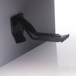 Ogee Guttering Top Hung Fascia Bracket Black