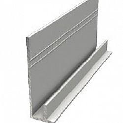 X-Wood 3 Metre Aluminium Starter Trim - FCA3123