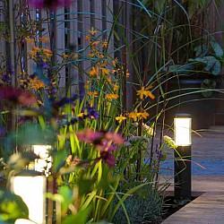 in-lite Liv Low Dark Bollard Light