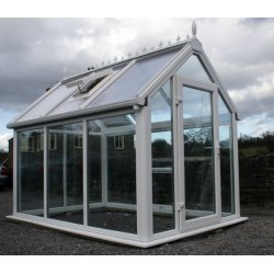 Ultimate UPVC Greenhouse 6' x 8
