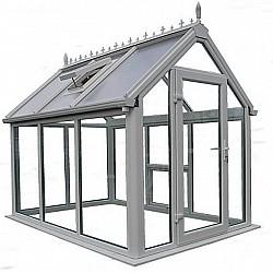 Ultimate UPVC Greenhouse 6' x 6'
