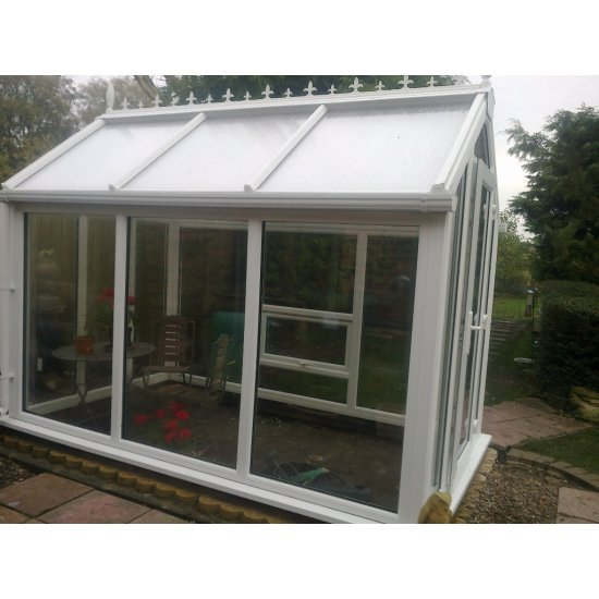 Ultimate UPVC Greenhouse 6' x 12'