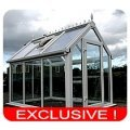 Ultimate uPVC Made to Measure Greenhouse