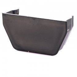 Anthracite Grey Square Gutter Internal Stop End