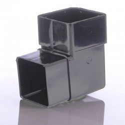 Anthracite Grey Square Down Pipe 92.5 Degree Bend  7016