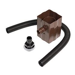 Rainwater Diverter - Brown (RVS1V)