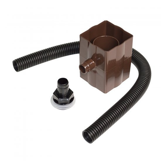 Rainwater Diverter - Brown (RVS1V)