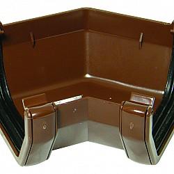 114mm Brown Square 135º Gutter Bend (AAS2V)