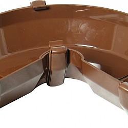 Brown Square Gutter Adjustable Angle 50° - 156° (RAS3V)