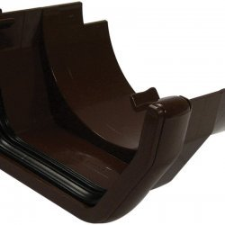 Brown Square Gutter  to Cast Iron Adapter (RDS5V)