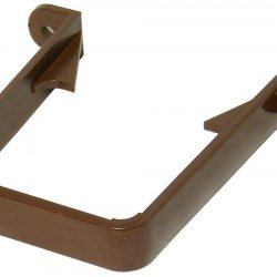 65mm Brown Square Downpipe Bracket