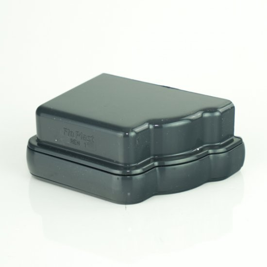 Anthracite Grey Niagara External Stop End Right Hand RAL 7016