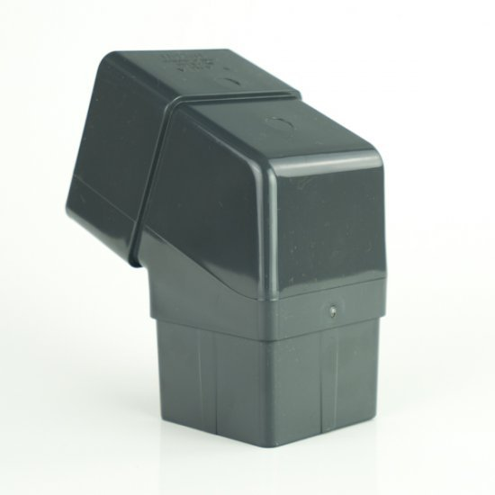 Anthracite Grey 112° Square Offset Bend RAL 7016