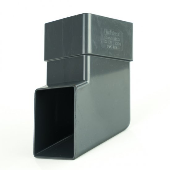Anthracite Grey Square Shoe RAL 7016