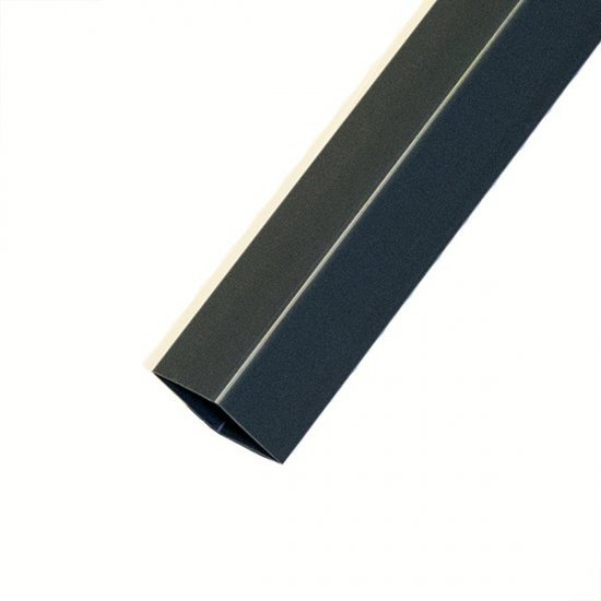 Anthracite Grey Square Downpipe 2.5 Metres RAL 7016