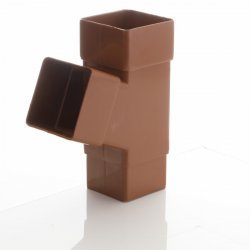 Caramel Square Down Pipe Branch