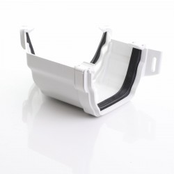 White Synseal 135 Degree External Bend