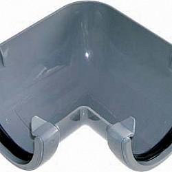 Grey 115mm Deep Flow 90º Gutter Angle