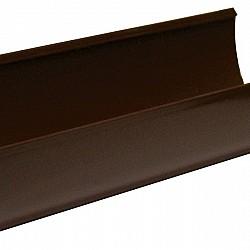 Brown Deep Guttering 4m