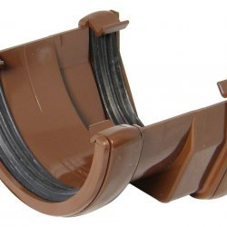 Brown Square To 112mm Round Adapter