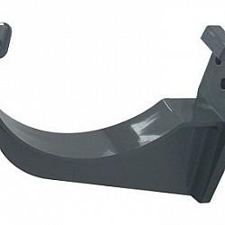 112mm Grey Half Round Gutter Fascias Bracket (AK1G)