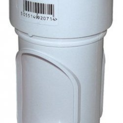 White Round Downpipe Access Pipe (RX1W)