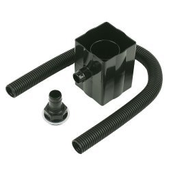 Rainwater Divertor - Black - 68mm (RVS1B)