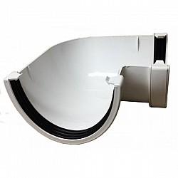 Xtraflo 170mm Gutter 90º Angle - White