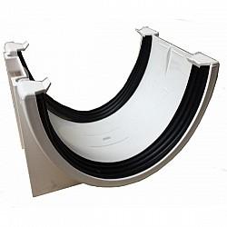 Xtraflo Industrial Commercial 170mm Gutter Union Bracket - White