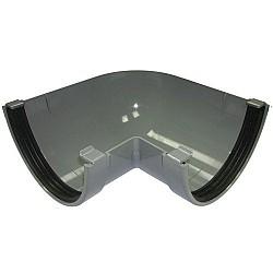 Xtraflo 170mm Gutter 90º Angle - Grey