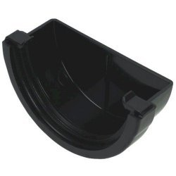 External Stopend - 76mm Mini Black