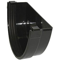Xtraflo 170mm Gutter External Stopend - Black