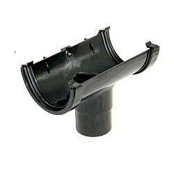 Running Outlet - 76mm Black
