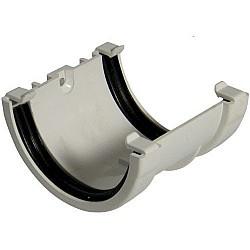 Union Bracket - 76mm Miniflo Gutter - White