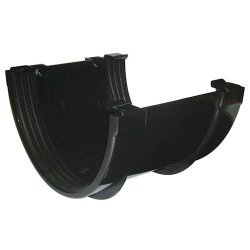 Xtraflo 170mm Gutter Union Bracket - Black