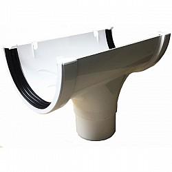 Xtraflo 170mm Gutter Running Outlet - White