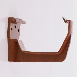 Golden Light Oak Square Gutter Fascia Bracket