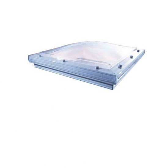 1800 X 1800 Fixed Roof Dome to fit Builders Upstand - Vented