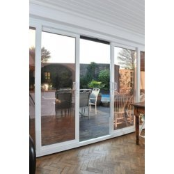PVC Sliding Patio Door - 3 Pane - A-Rated - Made-To-Measure