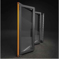 Bi-Fold Doors Aluminium 2 Pane Folding Low Threshold