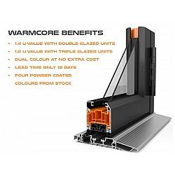 Click Here To Select Options Aluminium Door - Double Glazed - Warmcore