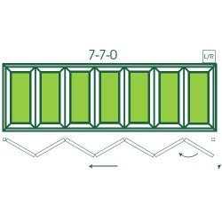 UPVC Double Glazed Made to measure Bi-fold