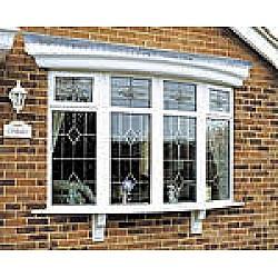 2.4m GRP Bow Window Canopy