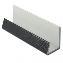 Anthracite Grey 16mm Edge Trim for Shiplap - RAL 7016