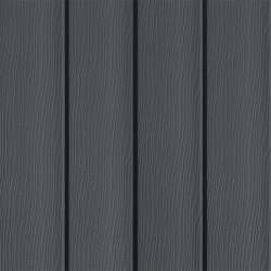 Anthracite Grey (RAL 7016) Original Vertical Siding 167mm Pack of 4