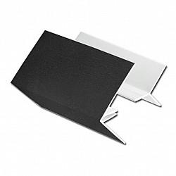 Black Ash 2-Part Edge Trim for Shiplap Cladding in 5 Metre Length