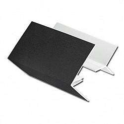 2-Part External Edge Trim for Shiplap Cladding - Black