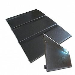 Black Ash 150mm Shiplap Cladding in 5 Metre Length